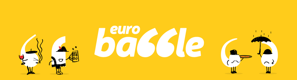 Euro Babble Logo Advert